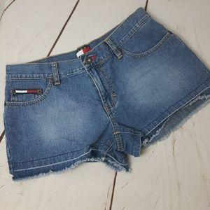 Tommy Hilfiger Vintage Tommy Jeans Frayed Shorts 7